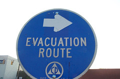 Evacuation Route Sign 521768141 s